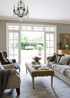 A Beautiful Home Brimming With A Classic French Provincial Vibe French  Provincial Bedroom, French Doors