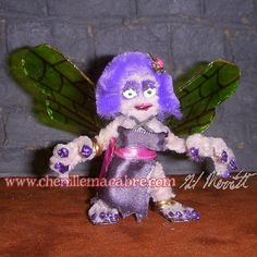 Setroka the Fairy Miniature by ChenilleMacabre on Etsy! Buy her today!