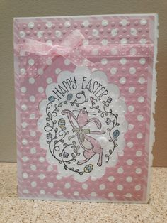 Stampin' Up a Happy Easter Bunny Easter Card