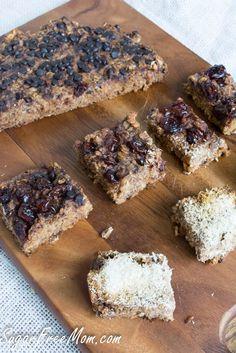 Crock Pot Personalized Baked Oatmeal Bars #sugarfree #glutenfree