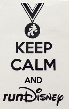 Keep Calm and runDisney Decal