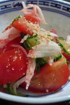 トマトの酢のものの画像
