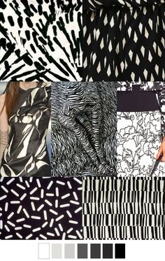 Farb-und Stilberatung mit www.farben-reich.com - EBONY AND IVORY SS16 Pattern Curator