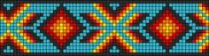 Alpha Friendship Bracelet Pattern #8380
