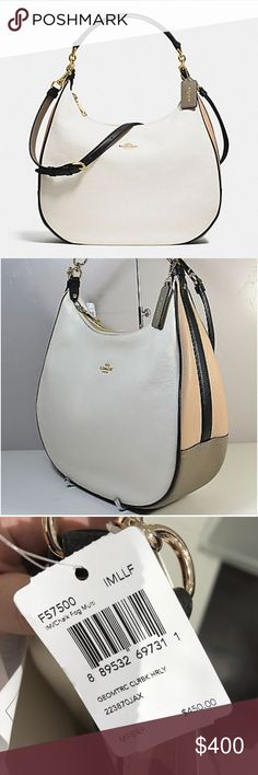 4707514f17fe COACH Harley Hobo Bag- Authentic NWT Amazing brand new leather Coach hobo  purse. Can