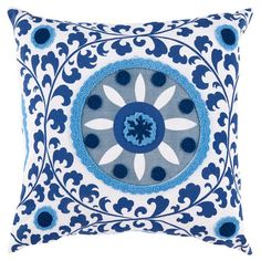 Stout Pattern: Foolish 2 Lake on this Elizabeth Pillow from the Global Inspiration event at Joss and Main!
