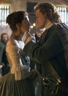 Jamie and Claire - wedding