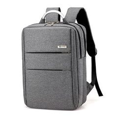 NewChic - NewChic 14 Inch Nylon Laptop Bag Casual Business Backpack For Men Women - AdoreWe.com