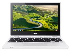 "Acer Chromebook R 11 CB5-132T-C4LF 1.6GHz N3150 11.6"" 1366 x  N3150 Touchpad Chrome OS Lithium-Ion 64-bit     #ACER #NX.G54EZ.002 #Notebooks"