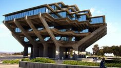National Library Week: Most Beautiful Libraries Around the World - The Geisel Library at the University of California, San Diego Campus.