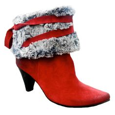 Gorgeous Boot from ChaniiB - Representing the fur trend of 2012!