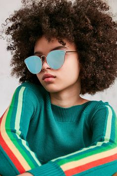 Shop Quay All My Love Cat-Eye Sunglasses at Urban Outfitters today. We carry all the latest styles, colors and brands for you to choose from right here.