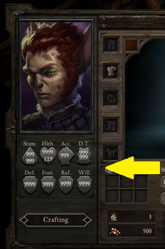 Pillars of Eternity Hack, Trainer Unlimited Health Defense -