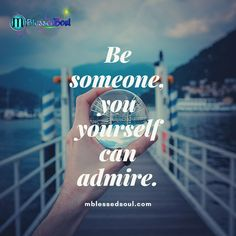 Be someone, you yourself can admire! . . . . #becomebetter #becomeyourbestself #admire . #gogetitnow #askforit #stepforward11 #moveforwardalways #actnow_changenow #satisfaction #satisfyyourself #quotestags #quotestagrams #dailyquotestoliveby #dailymotivation02n #yogainspiration #inspirationalquoteoftheday #motivationalwords #selfmotivationforall #selflovejourney