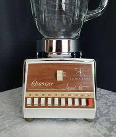 Vintage Osterizer Blender Blender with Glass Jar Retro