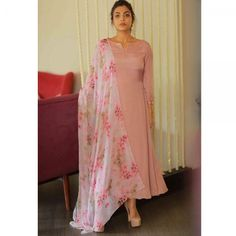 Online Shopping of Peach Sober salwar Suit from mongoosekart, best products,fatest delivery available here, Huge collection of Straight fit Salwar suit . Kurta Designs Women, Kurti Neck Designs, Salwar Designs, Kurti Designs Party Wear, Dress Indian Style, Indian Wear, Indian Attire, Indian Designer Outfits, Indian Outfits