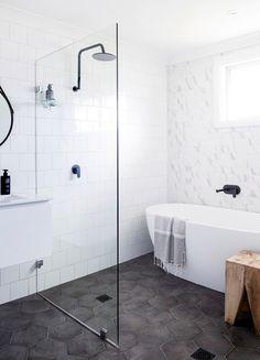Maison australienne rénovée façon Hamptons Three birds renovation via Nat et nature