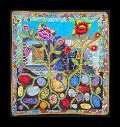 Medicine Buddha quilt