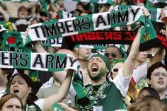 photos from timbers vs crew soccer championship - Google Search