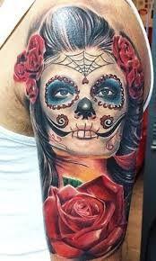 Resultado de imagen de dibujo catrina para tattoo