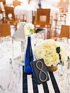 Nautical Wedding: 10 ways to Rock Your Nautical Wedding - KnotsVilla Photo by Rebekah J. Murray Photography