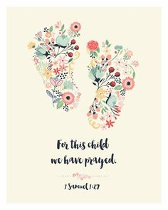For This Child We Have Prayed: