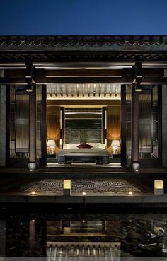 梁志天新作打造亦古亦今的雨润涵月楼酒店