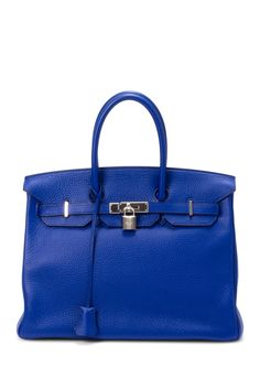 Hermes Leather Birkin 35 Handbag
