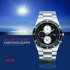 Solar Collection; Solar Chronograph; 34440-702