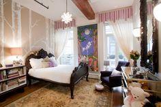 Magical children's bedroom.
