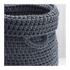 NORDRANA Basket, set of 2, gray gray -