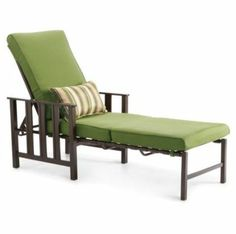 A durable, comfortable and stylish lounger is a summer patio staple. Sit back and soak up the sun!