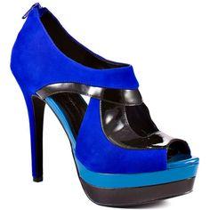 Jessica Simpson - Evannan - Blue Violet Black ---> Grad shoes. <3