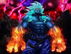 One Minute Melee: Akuma vs Kratos by GimmyJibbsJr on DeviantArt