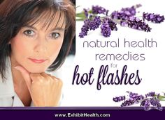 Natural menopause treatment with herbs, food remedies and homeopathy relieves cause of symptoms