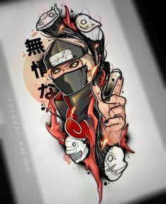 Wallpaper Naruto Shippuden, Naruto Shippuden Sasuke, Naruto Kakashi, Naruto Art, Boruto, Naruto Tattoo, Anime Tattoos, Geek Tattoos, Movie Tattoos