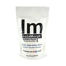 InstaMorph - Moldable Plastic - 6 oz New