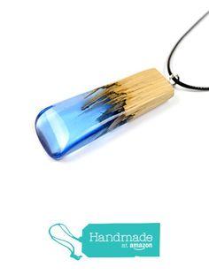OKTIE   Wood Resin Pendant   Resin Pendant   Wooden Pendant   Blue Pendant   Eco-Friendly Jewelry   Hand Made resin Jewelry   Stonelike https://www.amazon.com/dp/B01MS9E990/ref=hnd_sw_r_pi_dp_qCuGybWTZYEG1 #handmadeatamazon