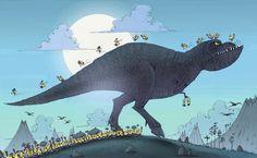 Minions - Dinosaurios