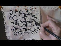 como pintar al óleo un mantel blanco, y más ... - YouTube