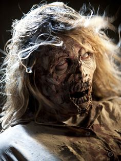 She's pretty... for a zombie. LOL!  Season 2 Zombie Photos