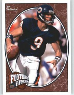 2008 Upper Deck Heroes #230 Jim McMahon - Chicago Bears (Legend) (Football Cards) by Upper Deck Heroes. $1.20. 2008. 2008 Upper Deck Heroes #230 Jim McMahon - Chicago Bears (Legend) (Football Cards)