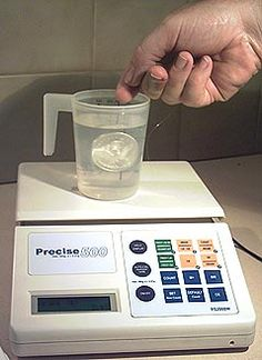 Specific Gravity:the density of a mineral compared to the density of water