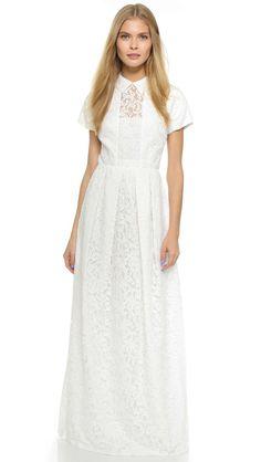 Carven Lace Gown
