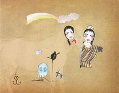 Caratula Interior Trasera de Cocorosie - The Adventures Of Ghosthorse I love this band❤️