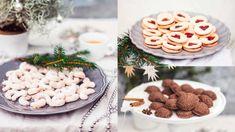 Výborné vánoční cukroví se dá upéct i bez lepku. Stačí vědět, jak na to! Feta, Gluten Free, Place Card Holders, Cheese, Table Decorations, Cooking, Psychology, Glutenfree, Kitchen
