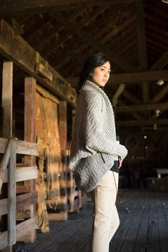 It's finally sweater knitting season! This year the silhouettes are generously oversized, perfect for wrapping yourself up in as the nights get darker and chillier. Here are a few of my top picks for oversized cardigan knitting patterns.