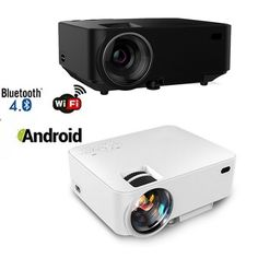 1080P Portable Mini Video Projector 1500 Lumens Home Theater Projector for Home Cinema Theater Entertainment Games Parties