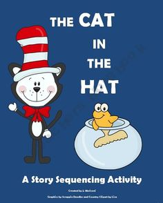 Story Sequencing Activity- The Cat in the Hat