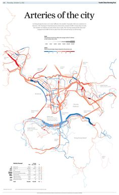 Arteries of the City Map